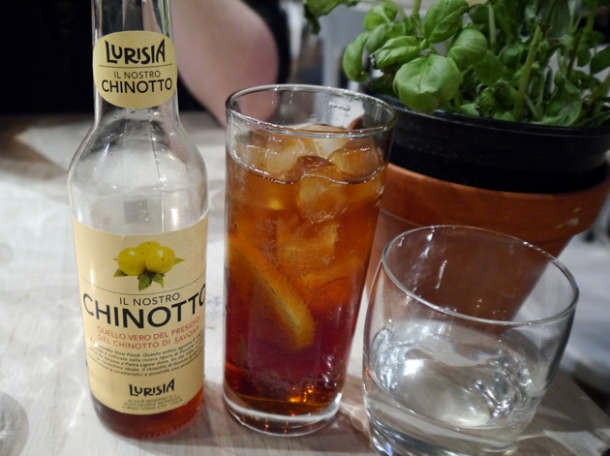chinotto lurisia at rossopomodoro