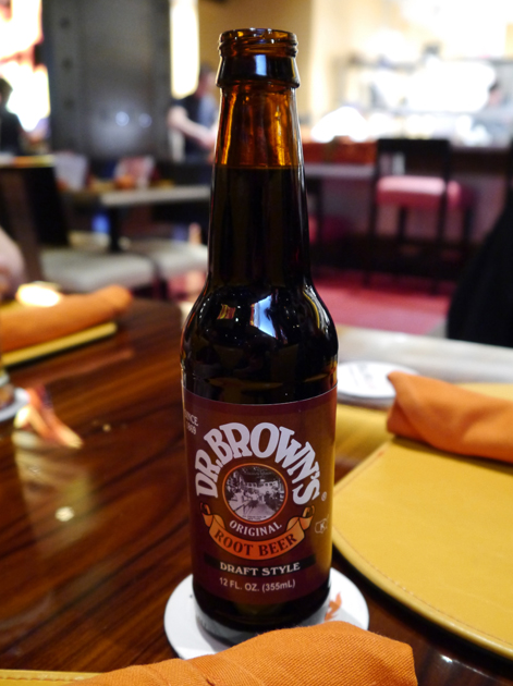 dr brown's root beer at gordon ramsay burgr