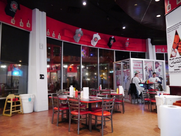 decor heart attack grill