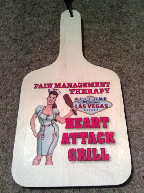Burgers In Las Vegas Gordon Ramsay Burgr Heart Attack