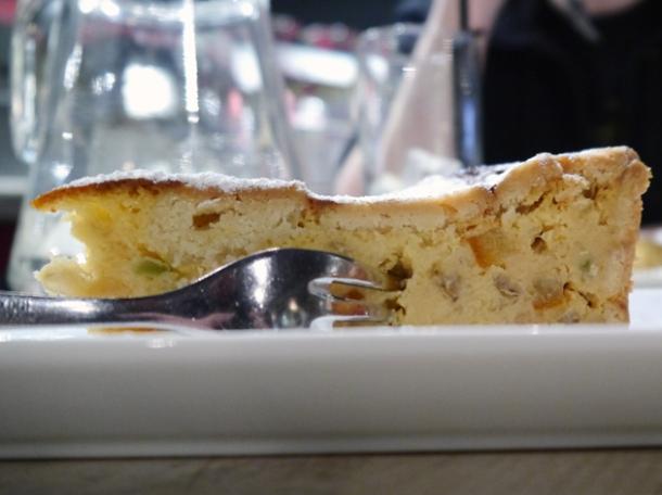 pastiera cake at rossopomodoro