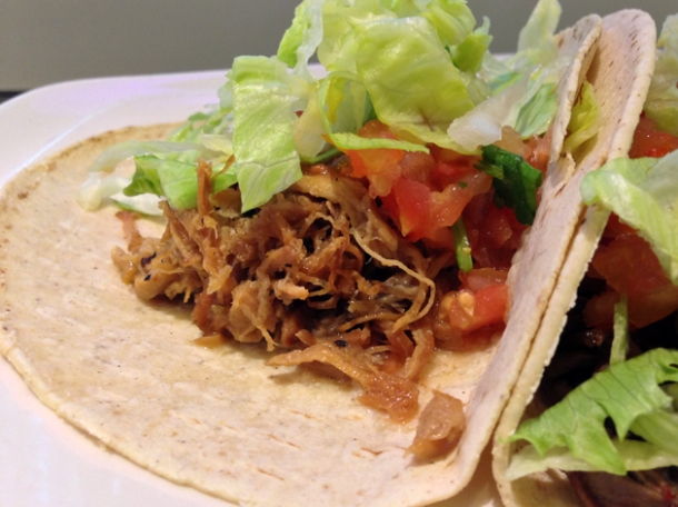 nineteenten pork taco
