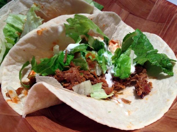 beef taco at adobo