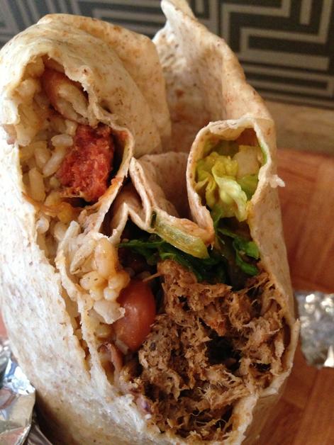 pork burrito at adobo