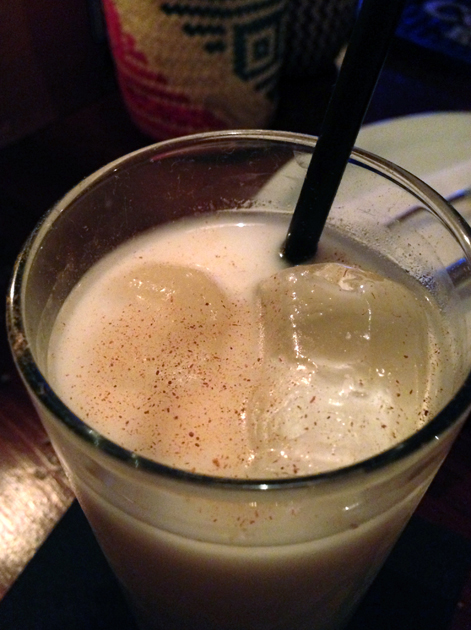 horchata at boho mexica