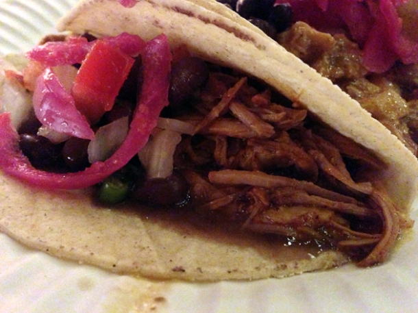 pork taco at buen provencho
