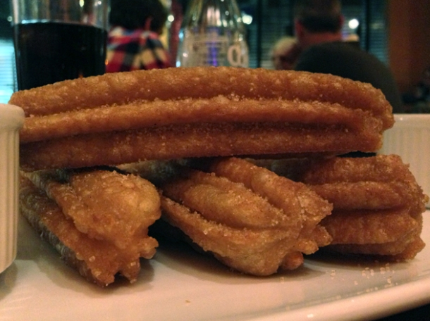 churros at cantina laredo