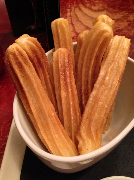 churros from chiquito