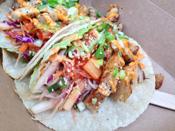 pork belly korean tacos from kimchinary
