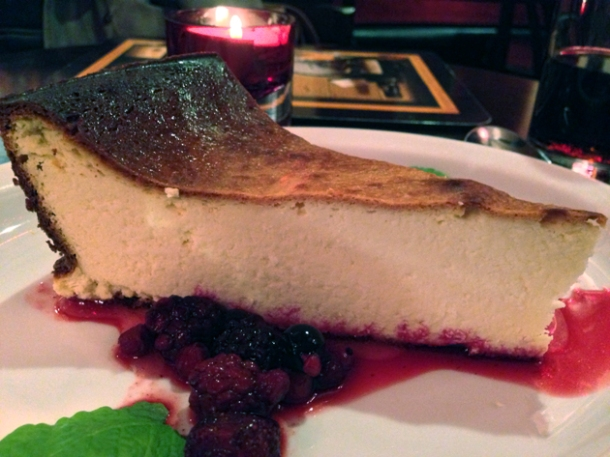 polish cheesecake at l'autre