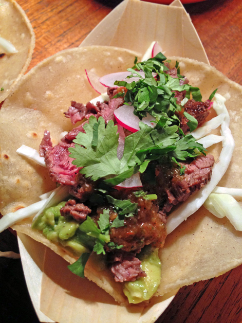 steak tacos from luardos
