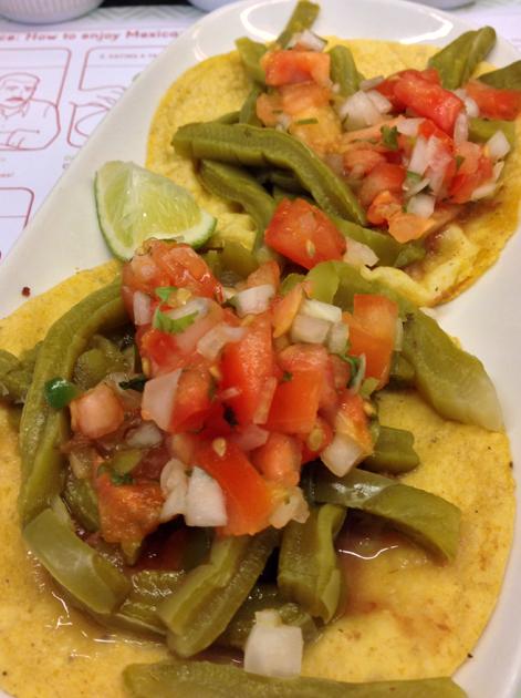 cactus tacos at lupita