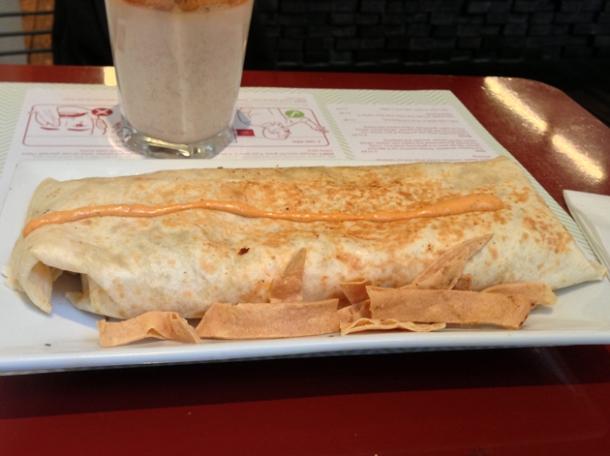 burrito at lupita
