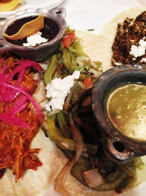 cactus tacos at mestizo