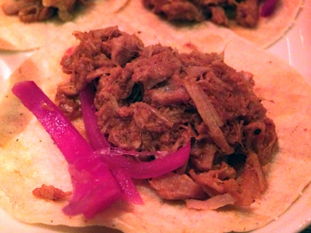 pork taco from tacuba