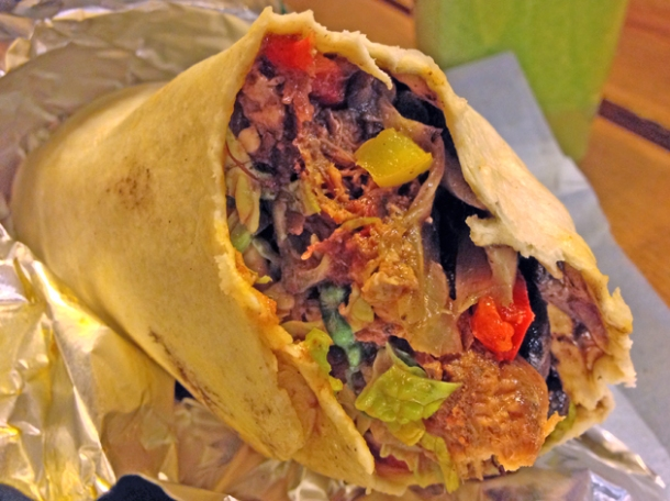 pork burrito from whole foods