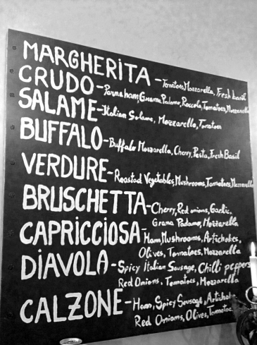 piccolo forno soho london menu