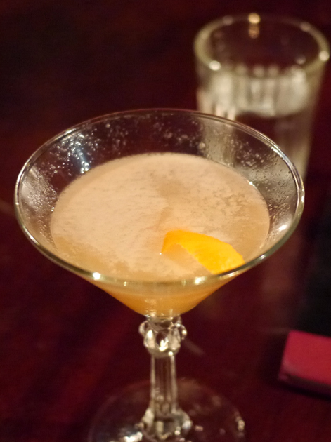 marmalade cocktail at hawksmoor spitalfields bar