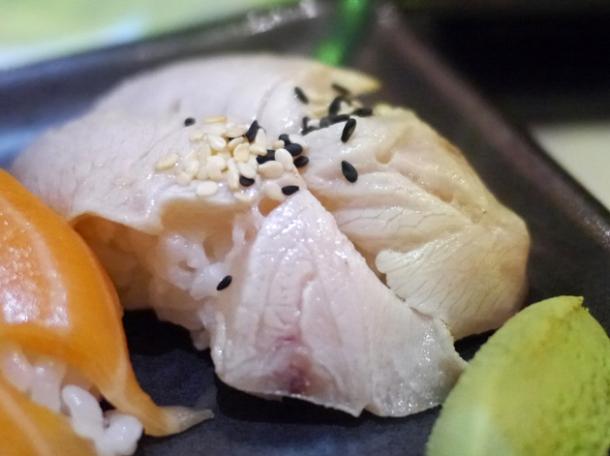 nigiri sushi at inamo piccadilly