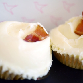 Hummingbird Bakery's bacon and salted caramel cupcakes