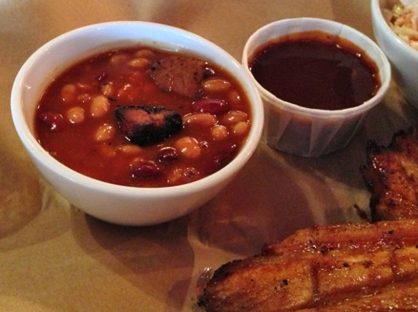 bbq beans at big easy