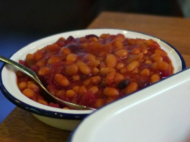 bbq beans at porky's