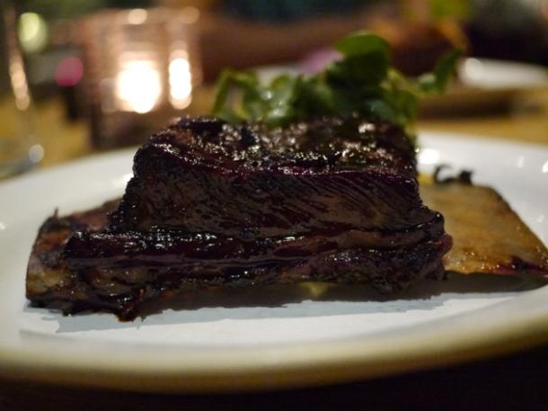 beef short rib at barbecoa