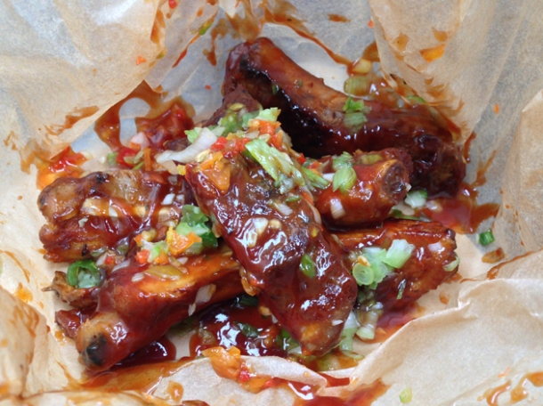 chilli ribs at the joint