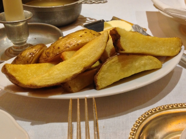 chips at blue boar
