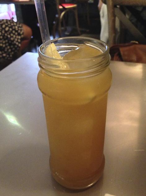 iced tea at joe's southern kitchen