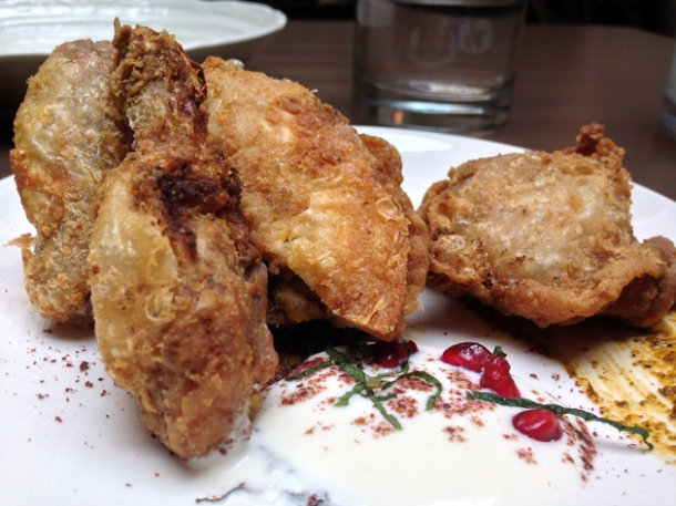 lebanese fried chicken at picture great portland street