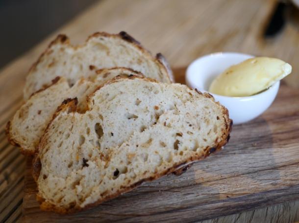 onion bread at grain store granary square
