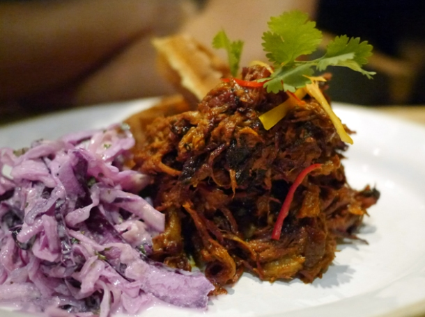 pulled pork at barbecoa