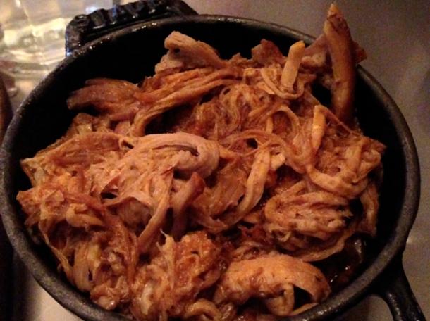 pulled pork at joe's southern kitchen