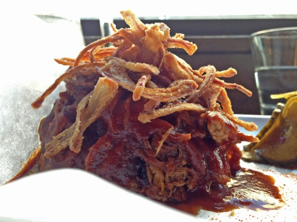 pulled pork at rotary