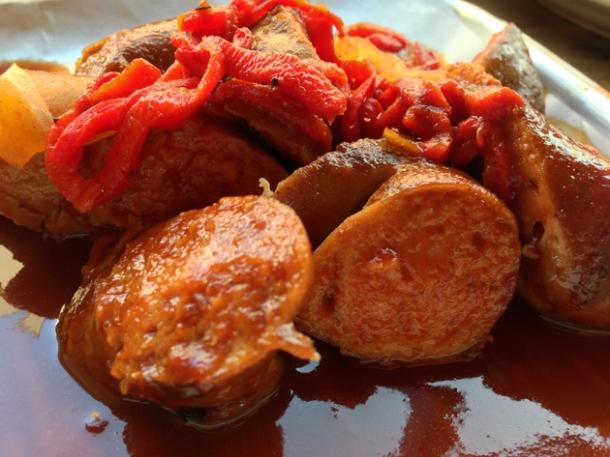 smoked sausage at rotary