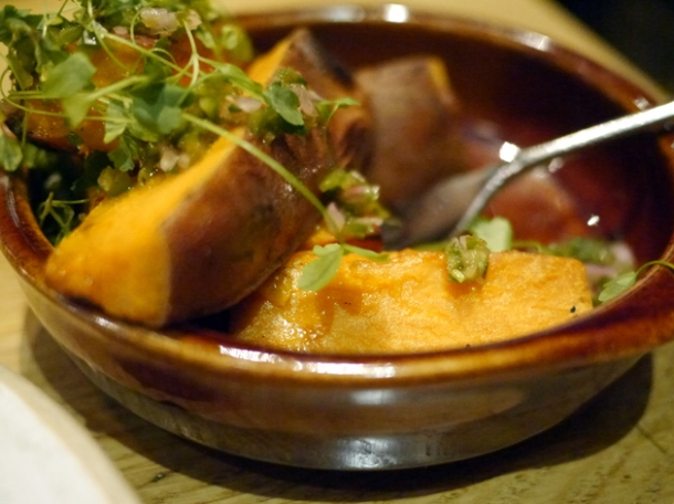 sweet potato at barbecoa