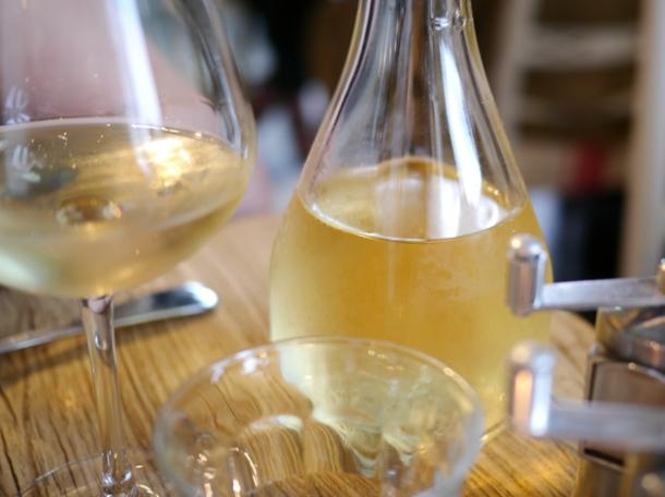 viognier white wine from domaine la bastide, rhone, france at grain store granary square