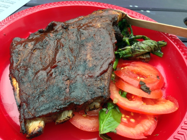 baby back ribs from smokey tails