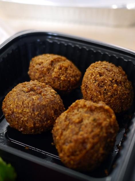 take away falafel from maroush v