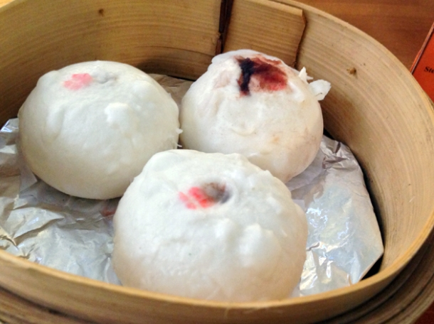 azuki bean bao at oriental dragon
