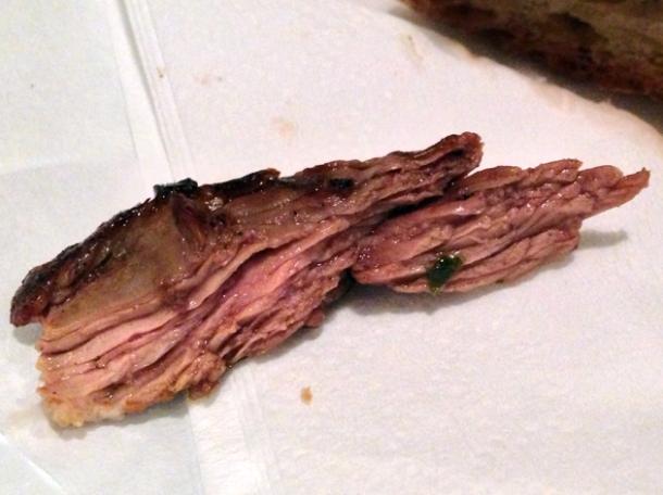bavette steak at mamita que chorizo