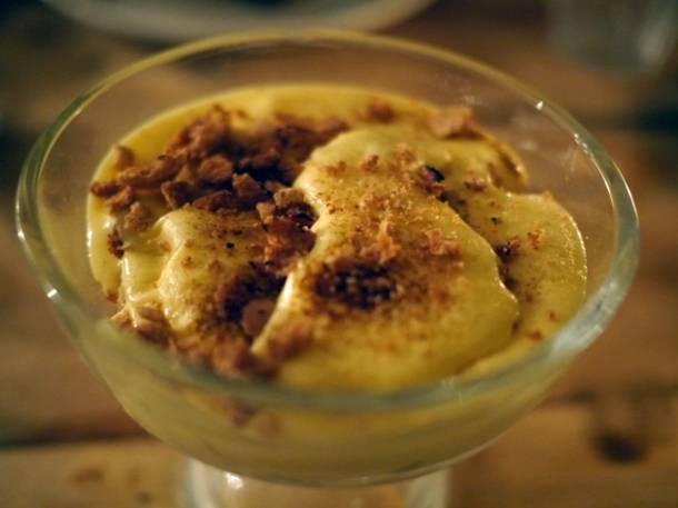 bourbon zabaglione at smokehouse