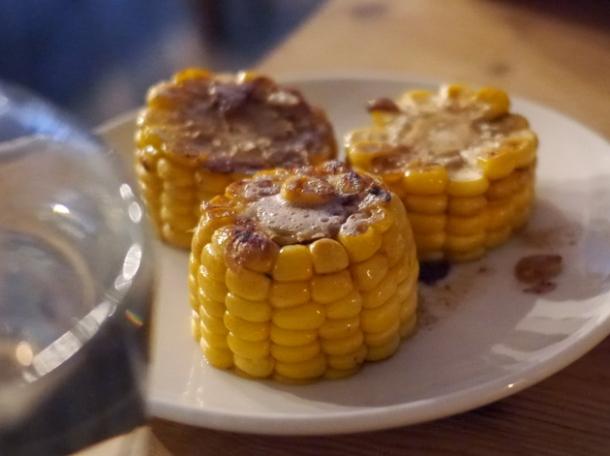 corn on the cob at smokehouse