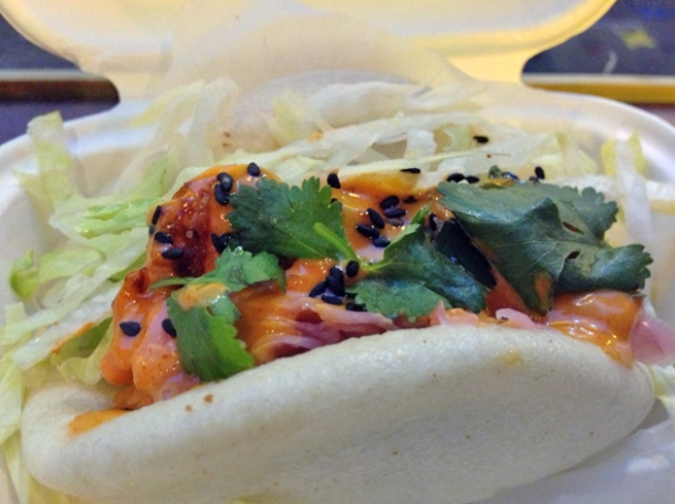 pollock gua bao from yum bun