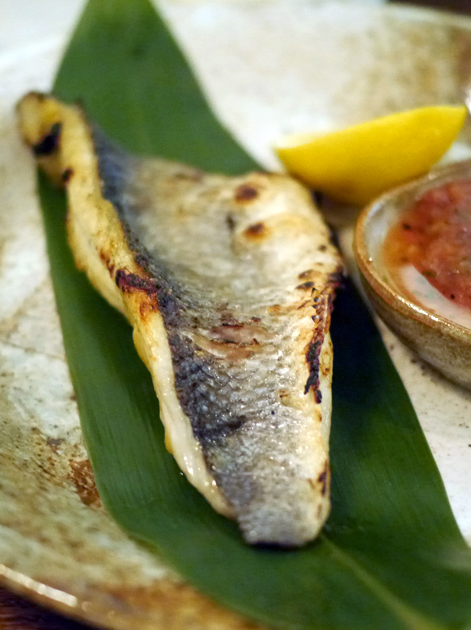 sea bass from flesh and buns