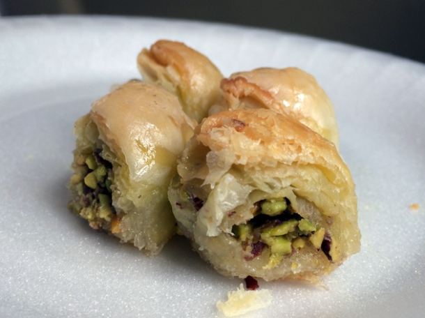 baklava from sanabel bakeries