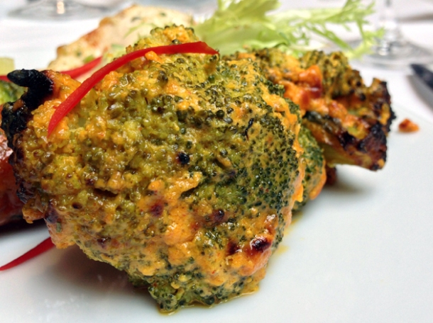 broccoli starter at the red fort