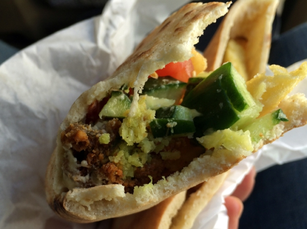 falafel in wadi musa