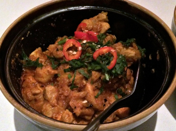 rabbit curry at the red fort